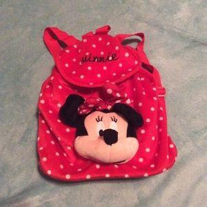 Handbags - Minnie Mouse polka dot mini backpack